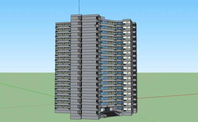 High Rise 2 and 3 Bedroom Apartment