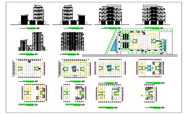 High Rise Apartment Building Design