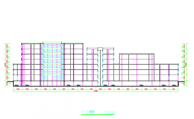 High Rise Commercial Complex Design
