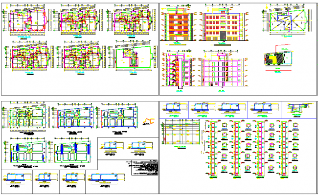 High School layout plan
