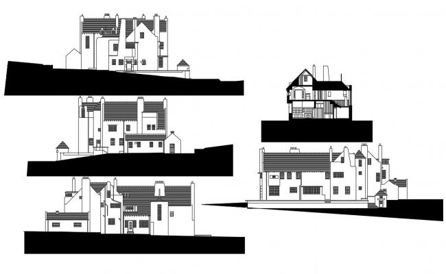 Hill House Elevation Design