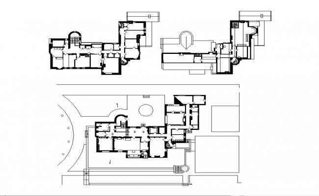 Hill house finished floors and framing plan details dwg file