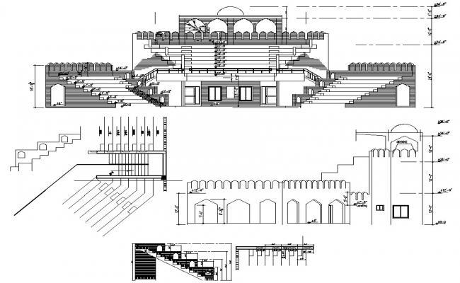 Historical Building Elevation Plan