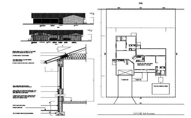 Home Project CAD Drawing
