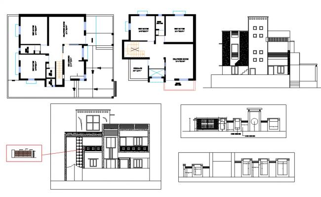 Home Project DWG File