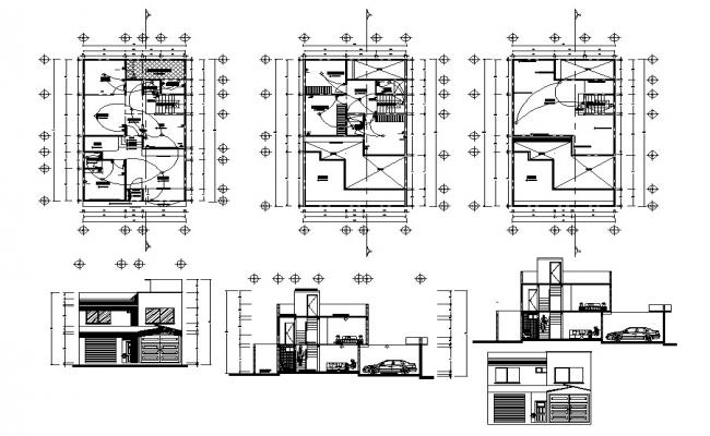 Home design AutoCAD Drawing download