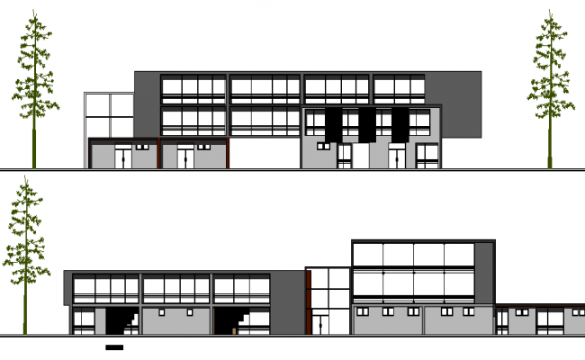 Hospital Architecture Plan and Design dwg file