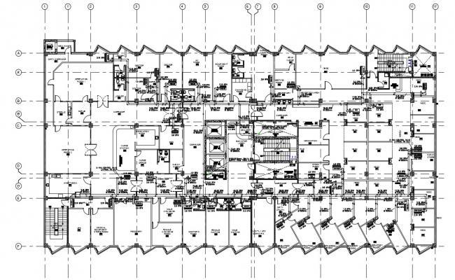 Hospital Building Design Architecture Layout Plan