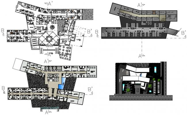 Hospital Building Plans Drawings