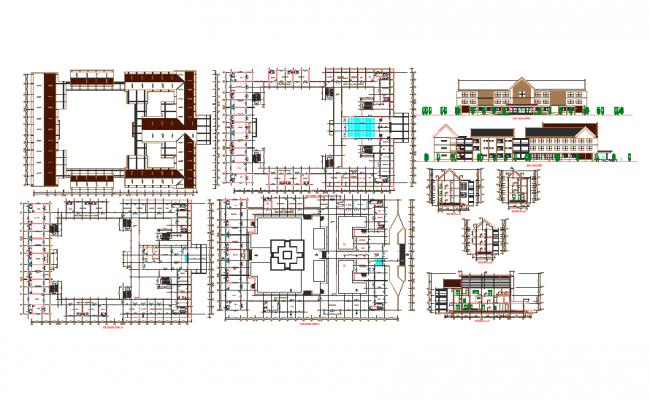 Hospital Design Concept Architecture Detail
