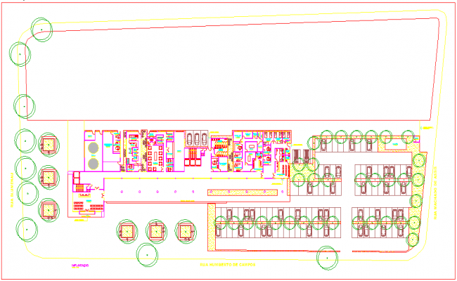 Hospital Design and lay-out detail