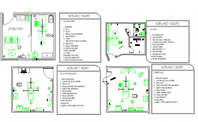 Hospital Operation room Plan & Detail