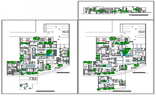 Hospital and clinics design drawings