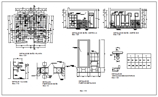 Hospital block design drawing
