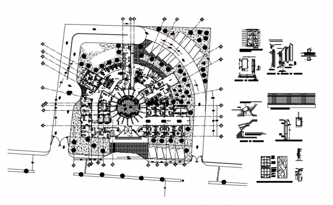 Hospital Project AutoCAD Drawing