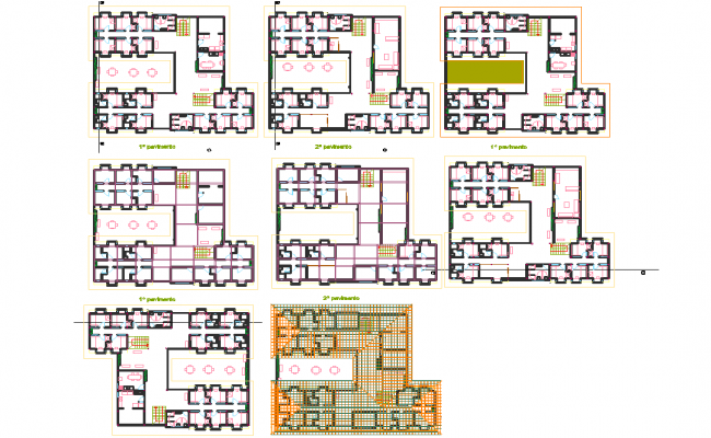 Hostel Architecture Building Layout Plan on Home Design Floor Plan Layout