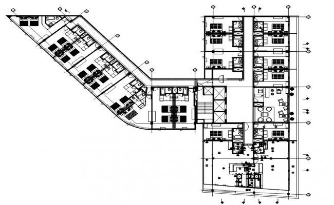 Hotel Bedroom Floor Layout Plan