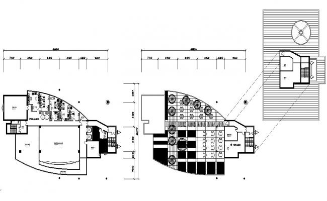 Hotel Building Design Architecture Plan