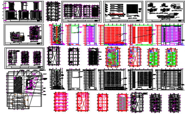 Hotel Building Dwg file