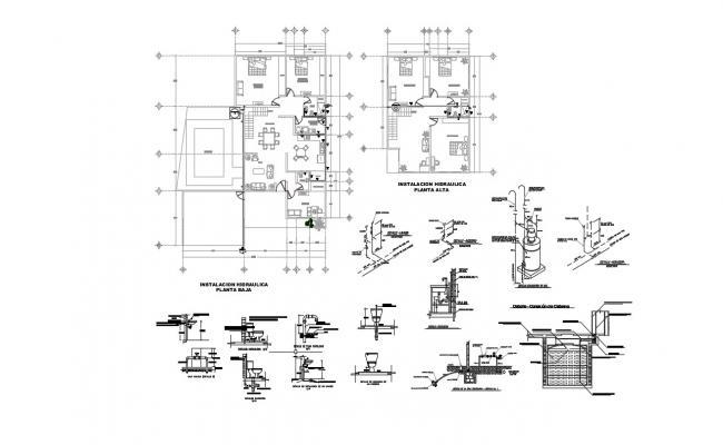 Hotel Building Plan In DWG File