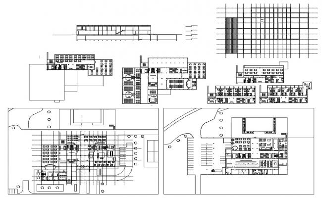 Hotel Design CAD Drawings