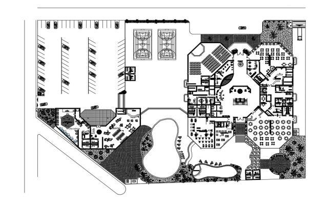 Hotel Design DWG File