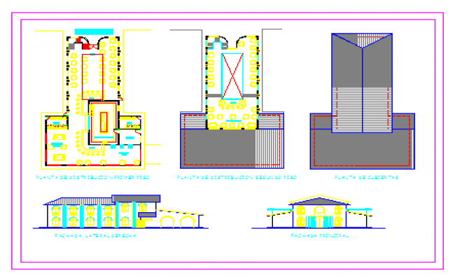 Layout plan of Hotel