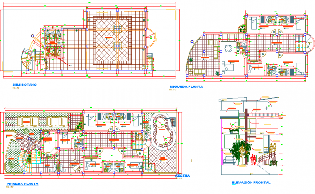 Hotel and Restaurant plan