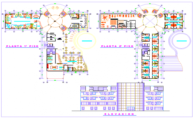 Single Level Hotel Plan