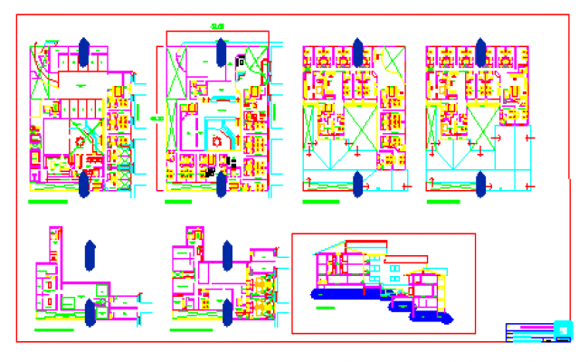 Lounge and Restaurant plan