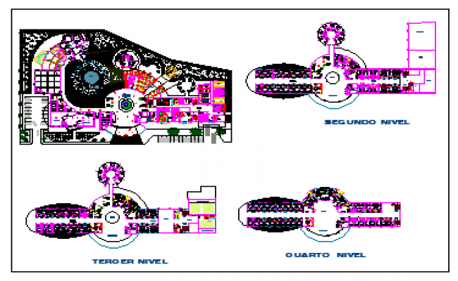 Hotel Design and lay-out detail