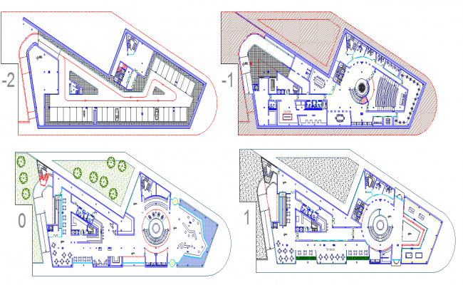 Hotel floor plan design dwg file for Designhotel 21