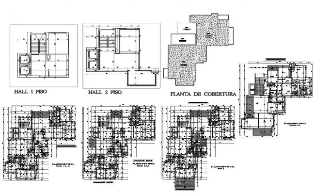 Hotel Floor Plan with Dimensions Detail