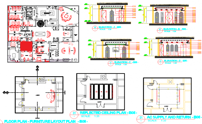 Restaurant And Office Floor Layout Plan