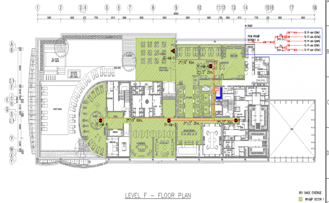hotel ground floor plan dwg file