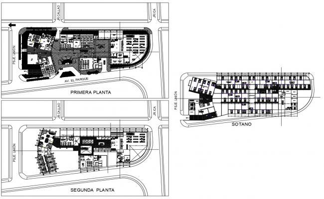 Hotel Interior Layout Plan