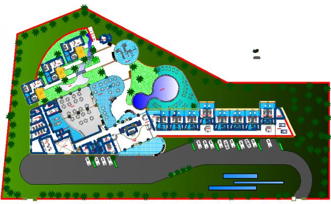 Hotel Layout plan