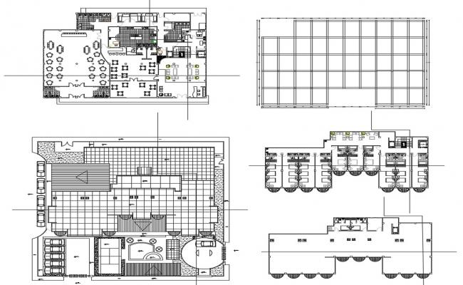 Hotel Plan AutoCAD Drawing