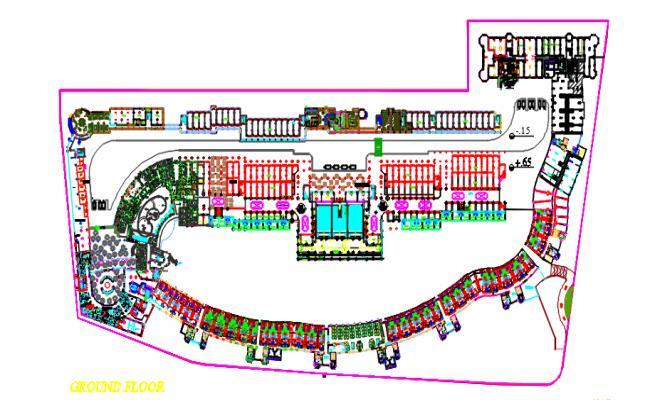Hotel Porto Marina Final layout