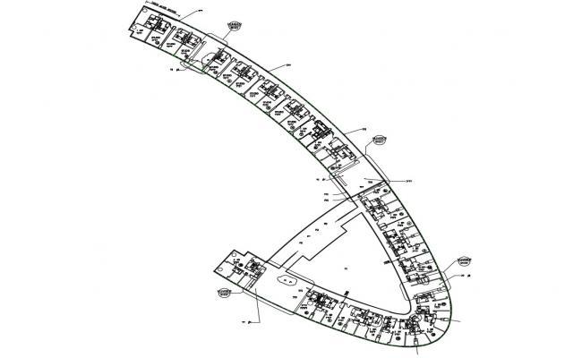 Hotel Room Design AutoCAD Drawing Plan