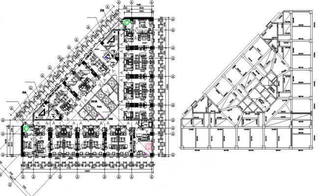 Hotel Room Floor Plan With Dimensions CAD File