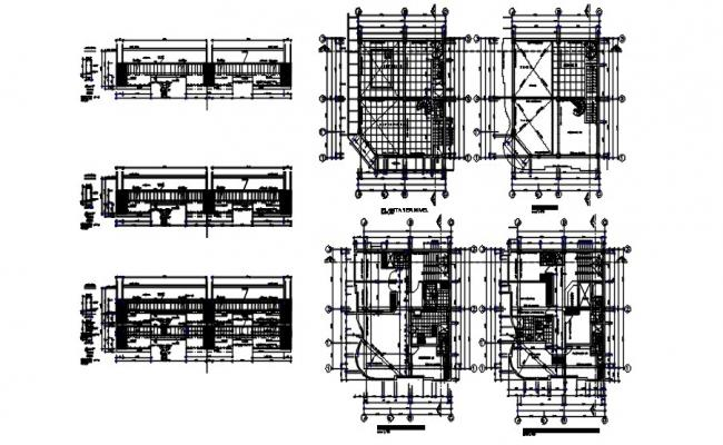 Download Free Electrical Installation Plan In DWG File