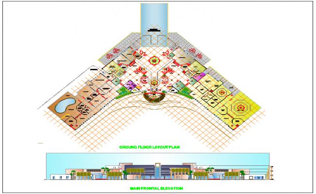 Hotel design view