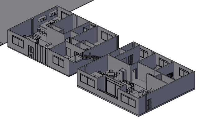 House 3d interior layout plan