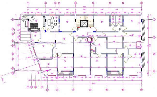 House AutoCAD Plan