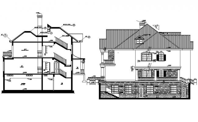 House Building Drawing Plan