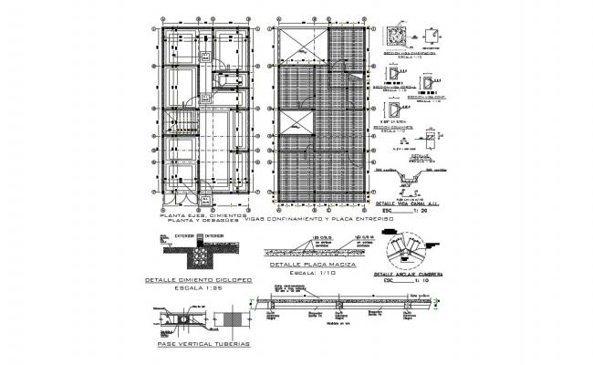 House Construction Design In DWG Fil