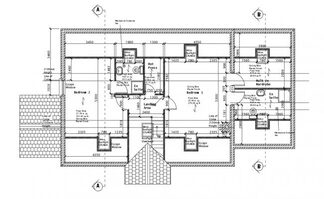 House Designs Plans DWG File Free Download