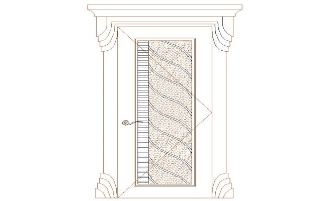 House Door elevation design