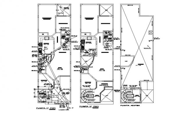 House Drainage System Plan In AutoCAD Drawings